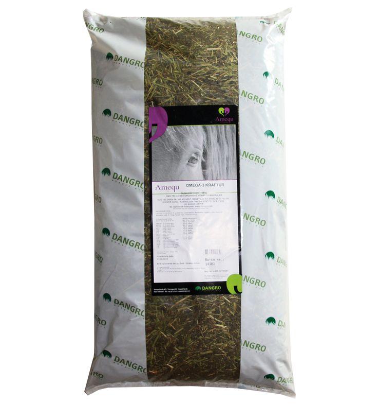 Fuldfoder baseret på lucerne, urter, mineraler - Kraftur Omega 3