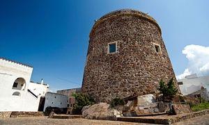 Calasetta's watch tower.