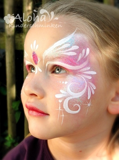 princess face paint x