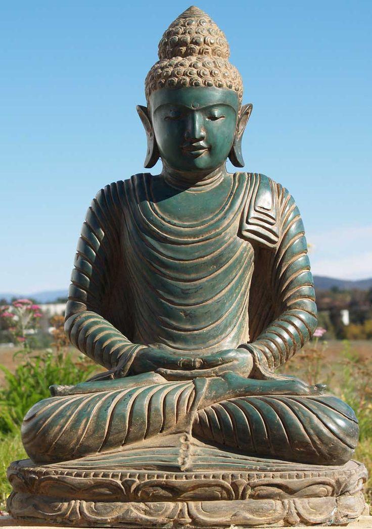 die besten 25 buddha statues ideen auf pinterest korat buddha garten und buddha statue bedeutung. Black Bedroom Furniture Sets. Home Design Ideas