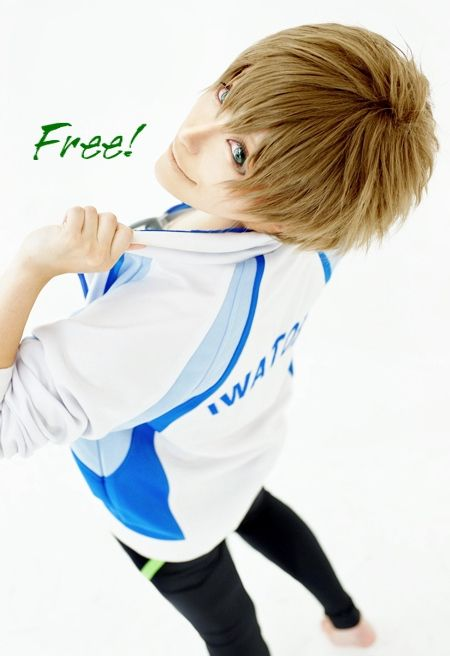 Makoto Tachibana from Free! Cosplay Checkout more cosplay news at http://www.roothub.co.uk/geeky/cosplay-of-the-day/