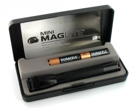 Lampe Maglite Mini R6 Noir