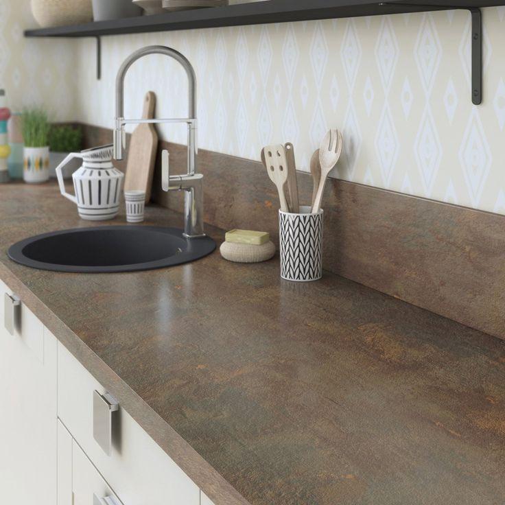 Bienvenue Chez En 2020 Plan De Travail Cuisine Plan De Travail Granit Et Cuisine Marron