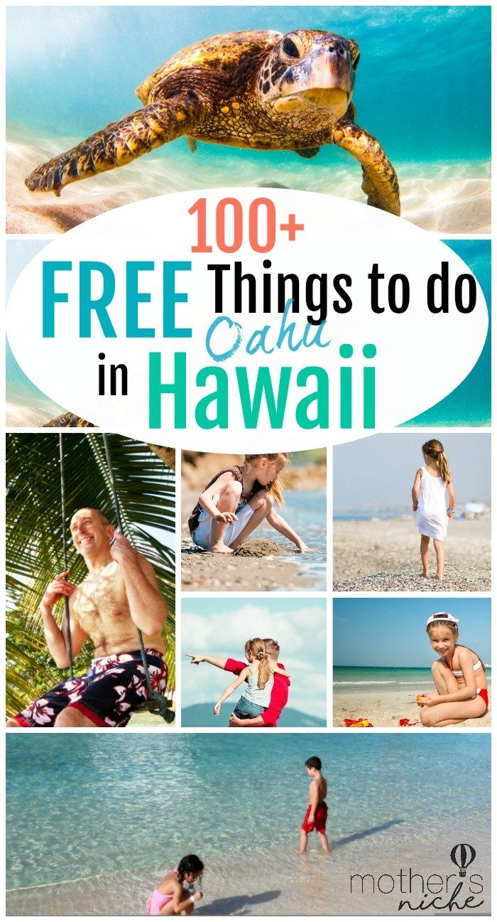 There are SO MANY Free Things to do on a trip to Oahu (Hawaii), you can really make your vacation as cheap as you want!