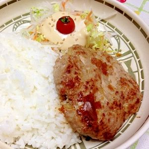 Famous Japanese Restaurant's Hamburger Steak Recipe  びっくりドンキーのハンバーグ