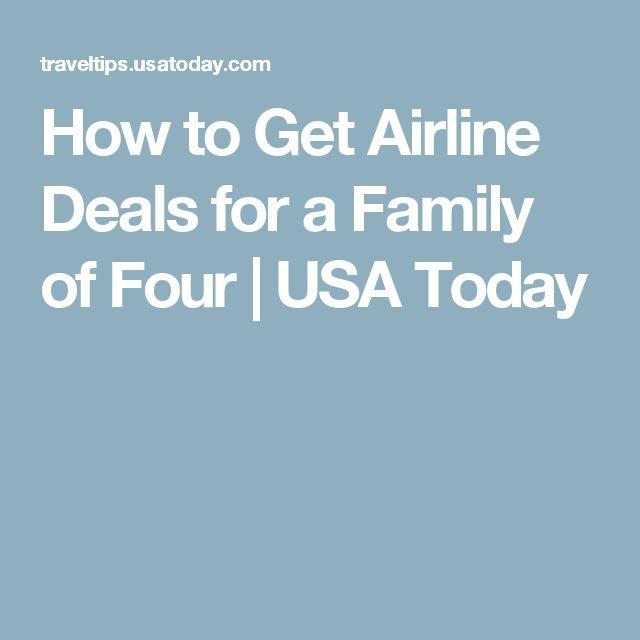 Best airline deals today