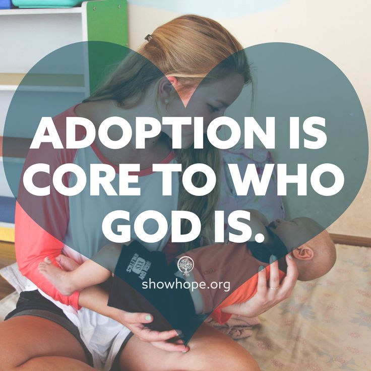 #Adoption is core to who God is!