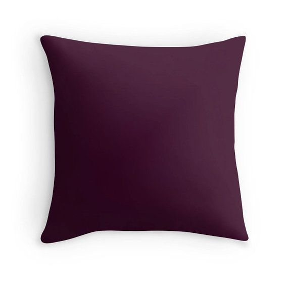 Eggplant Purple Throw Pillows : The 25+ best ideas about Purple Throw Pillows on Pinterest Purple gray bedroom, Plum cushions ...
