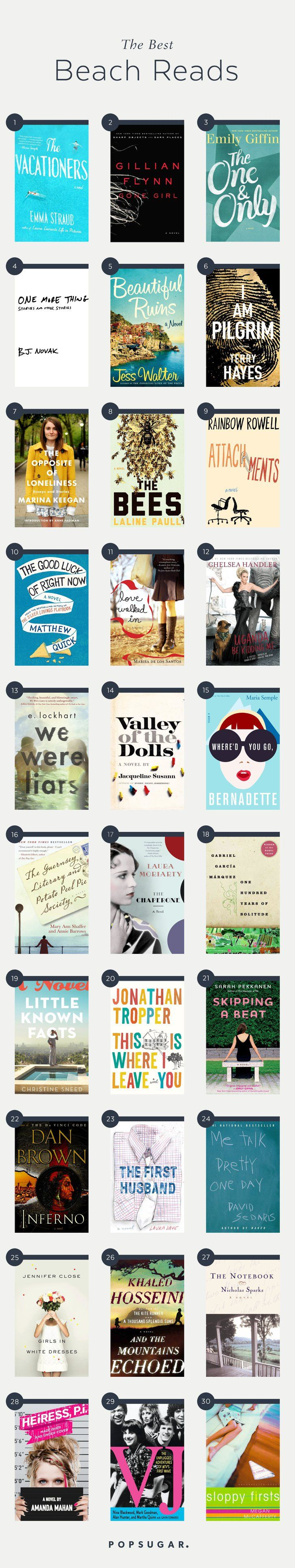 Looking for poolside page-turners you can dive into while you're away on a Summer getaway?