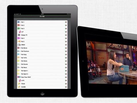 iTv HD, il nuovo modo di guardare la televisione su iPad