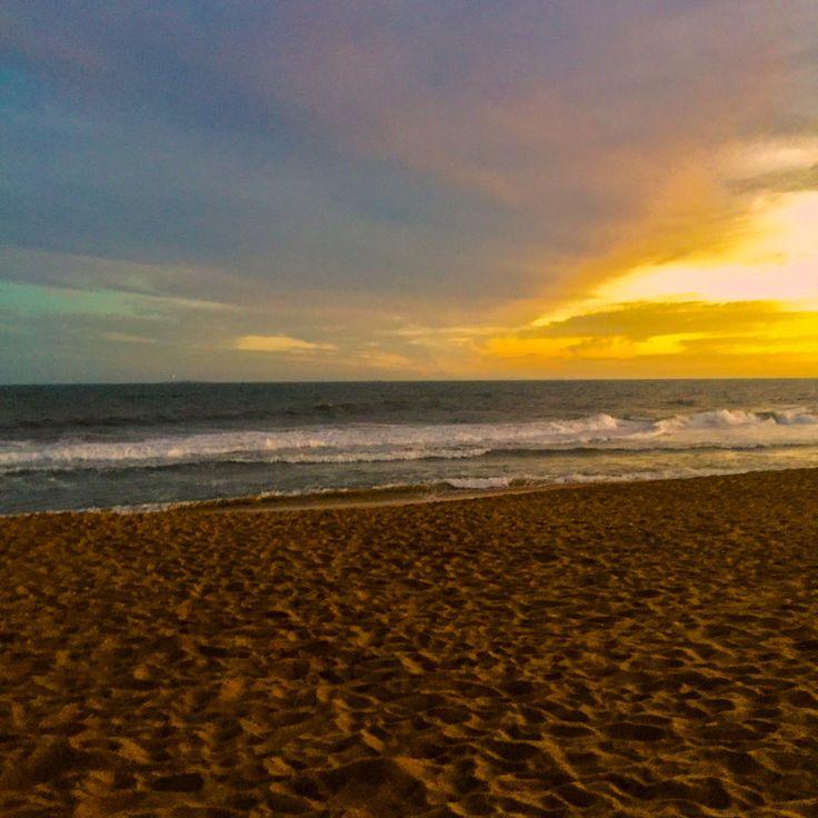 Puesta del sol-Punta del Este-Uruguay