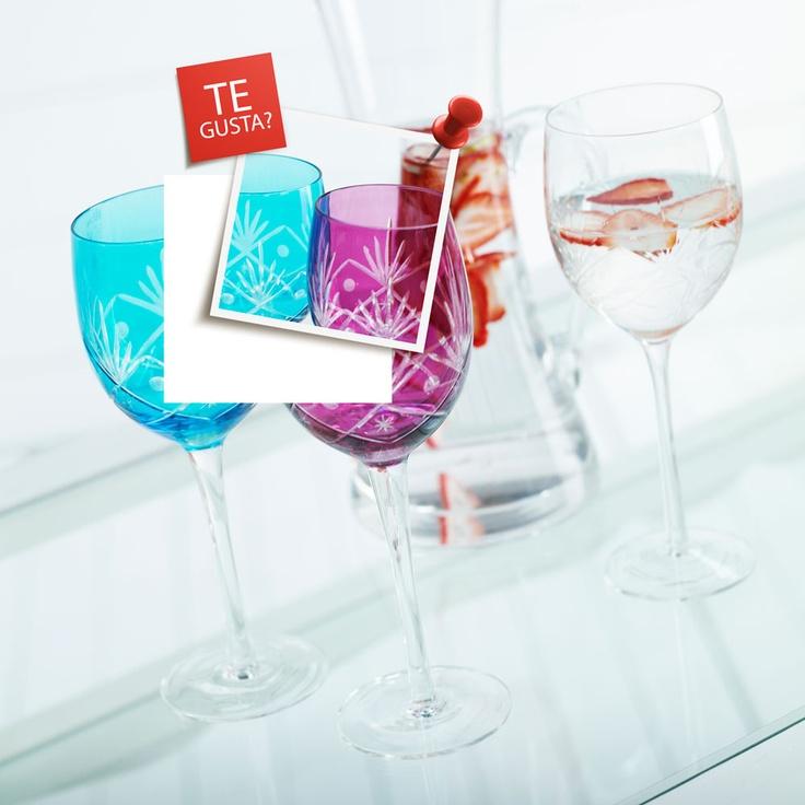 Copas de colores Cacharel, ¿Te gusta? Participa por uno http://eres.ripley.cl/