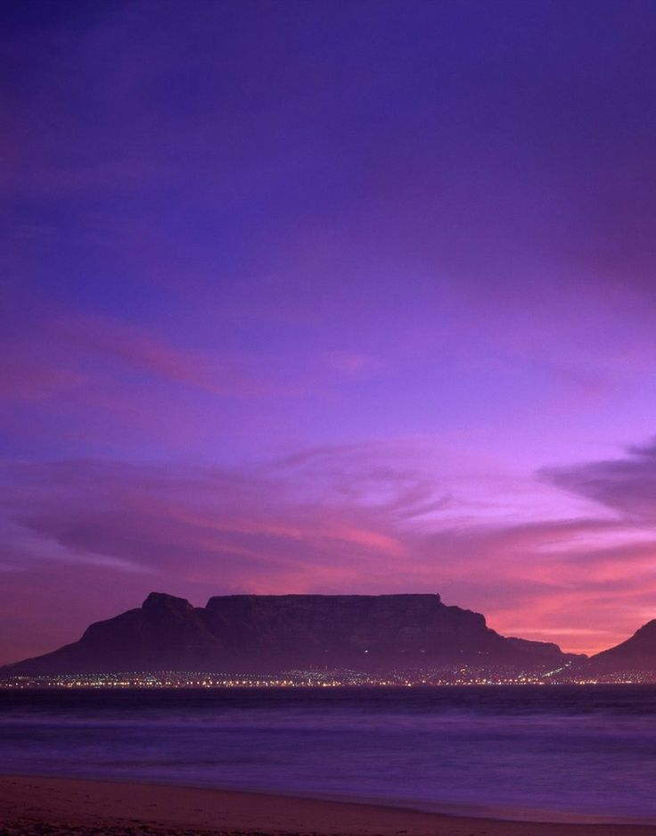 Table Mountain,Cape Town,South Africa: