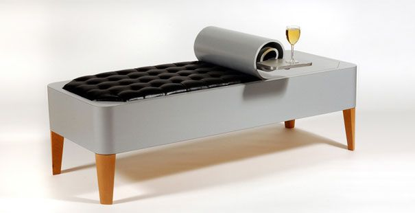"""Weird and Wacky Furniture By Straight Line Designs   DeMilked    """" The canned bench, I love how it proves to you how simple ideas can generate unique designs. As a result a fresh, exciting vibe generate just viewing the art piece, as if you have never seen such a design before... This is the power of design,, """""""