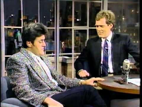 12-16-1986 Letterman Jay Leno, Pam Shriver Larry Bud Melman