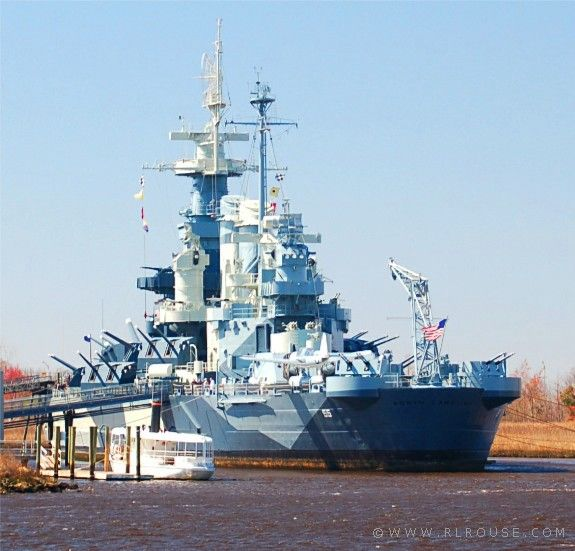 USS North Carolina Battleship in Wilmington NC