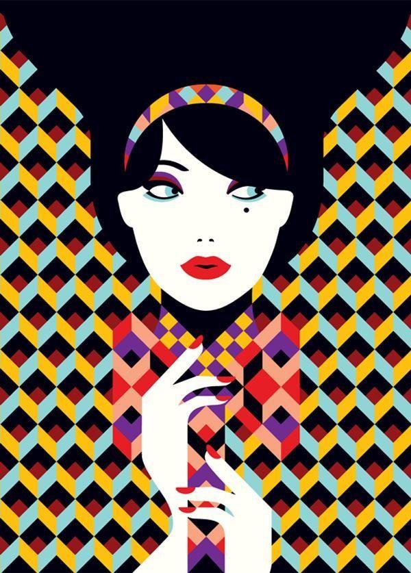 Esses são as ilustrações criadas pela ilustradora francesaMalika Favre, ela reside em Londres, o conceito do seu trabalho é aparar as coisas ao máximo possível, deixando a essência do assunto, com o menor número de linhas e cores.