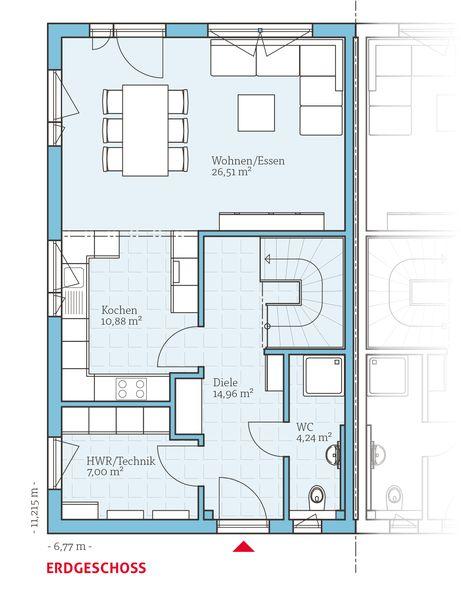 Fertighaus grundrisse doppelhaus  34 besten Grundrisse Bilder auf Pinterest | Grundrisse, Hausbau ...