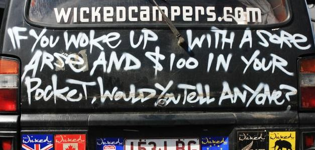 Offensive Wicked Campervans