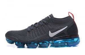 online store 33fa1 0c217 Mens Nike Air VaporMax 2. 0 Flyknit Dark Grey White Orange Pulverized Blue  942842 009