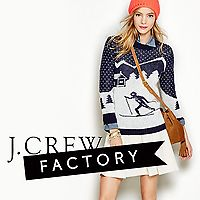 Free Shipping w/ 40% Off J. Crew Factory New Arrivals (Online & Today Only
