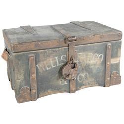 Wells Fargo & Company Strong Box with Padlock