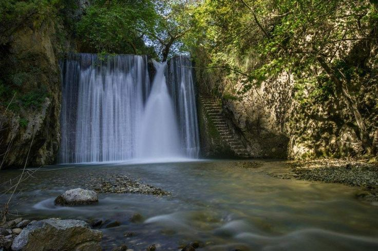 The Secret passage Nedontas river, Kalamata