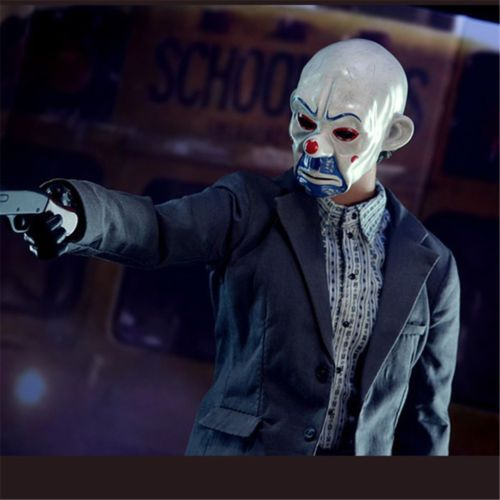 New joker bank #robber mask clown #batman dark #knight cosplay halloween costume ,  View more on the LINK: http://www.zeppy.io/product/gb/2/142098532172/