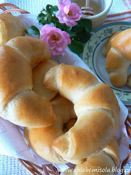 Croissants lait - beurre | le pain et le sel