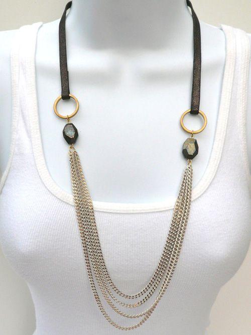 Julie Ann Art: October Giveaway #4: Chain Necklace