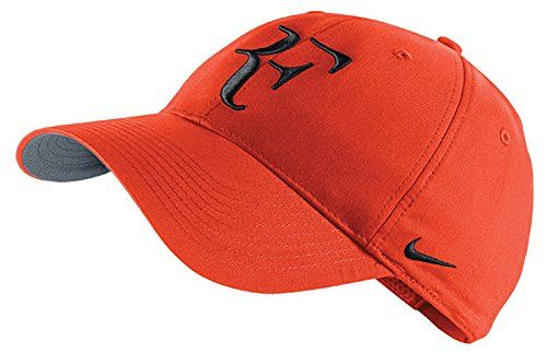 Nike RF Roger Federer Unisex Tennis Hat/Cap Orange.