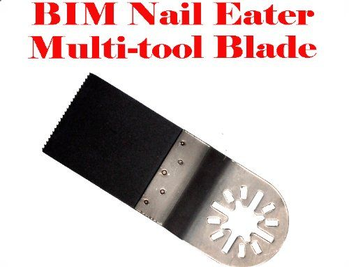 Nail Eater Oscillating Multi Tool Saw Blades for Fein Multimaster Bosch Multi-x Craftsman Nextec Dremel Multi-max Ridgid Dremel Chicago. Compatible with Fein Multimaster Bosch, CRAFTSMAN, Chicago Electric Dremel and more,. Please see description below for compatibility lisy. Idealfor demolition, plumbing, remodeling and general wood and metal cutting. Platinum Blade Bi-Metal Nail-Eater Blades are great for Flush and Plunge cuts.