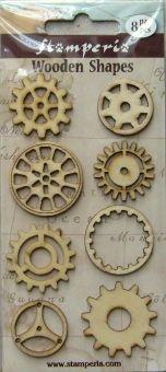 WHOBBI - Dekorációs anyagok (gyurmák,csipkék,veretek,doboz lábak,bútorgombok,lézervágott fa dekorok.....) - fa figurák, mozaik, kavics,gyurmák, felvasalható díszek, szárított növények, csillámpor, dekorgumi, filc
