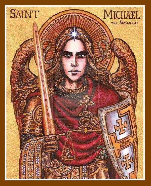 St. Michael icon by Theophilia.deviantart.com on @deviantART