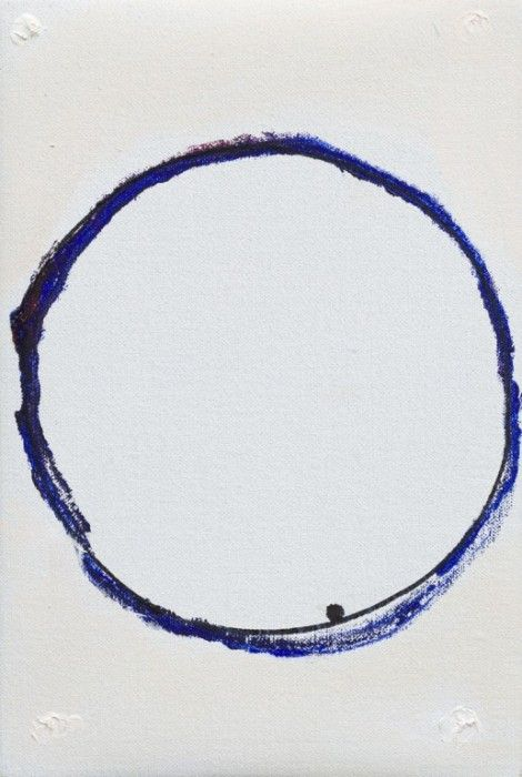 Raoul De Keyser, Raoul De Keyser, No Title (8 Verticals/7), 2010. Oil and ink on canvas mounted on wooden panel.