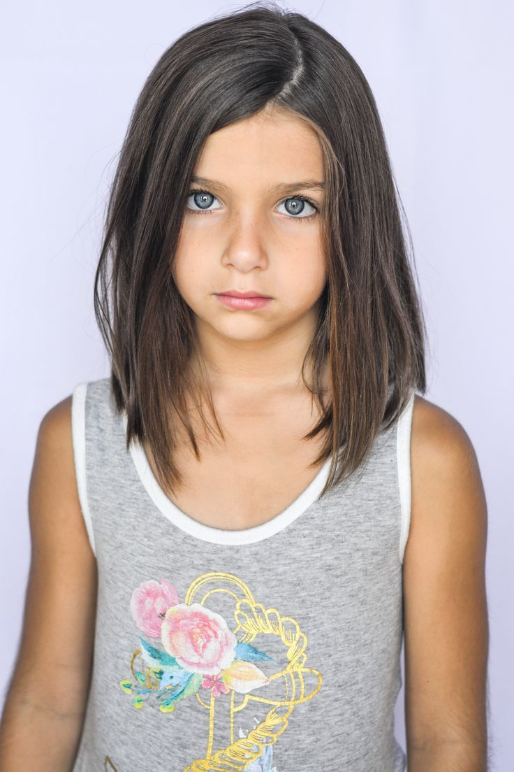 awesome Girls Lob ♥ Haircuts for little girls.... #BobCutHairstylesStraight