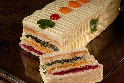 torta fria de legumes