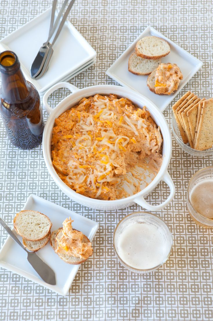 Chipotle, Bacon & Cheddar Chicken Dip