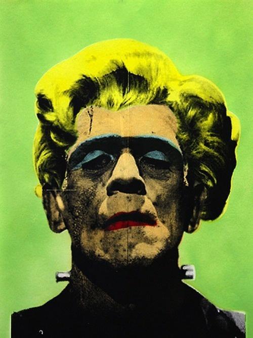 Frankenstein, by Mr. Brainwash.