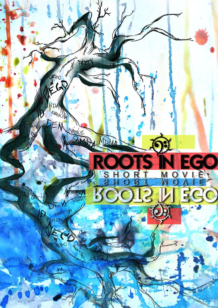 new graphic for my new movie roots in ego