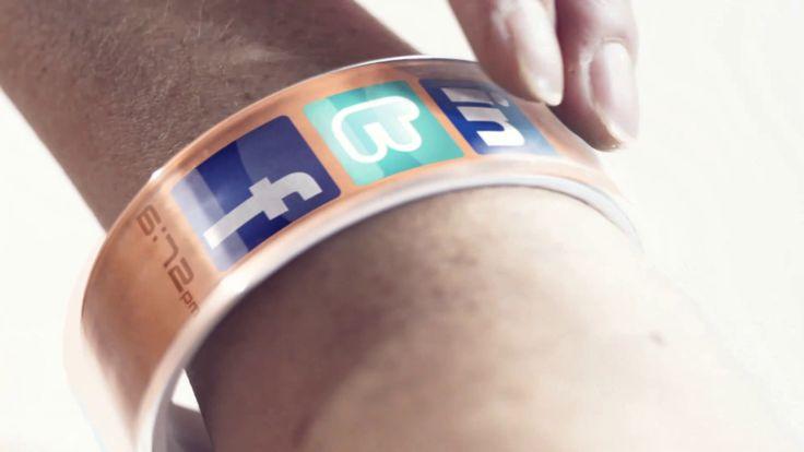 écran souple - écran bracelet