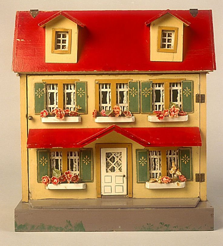 78.1952: dollhouse   Dollhouses   Toys   National Museum of Play Online Collections   The Strong