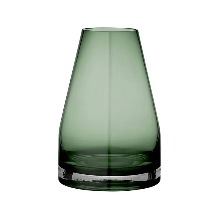 AYTM Spatia Green Glass Vase