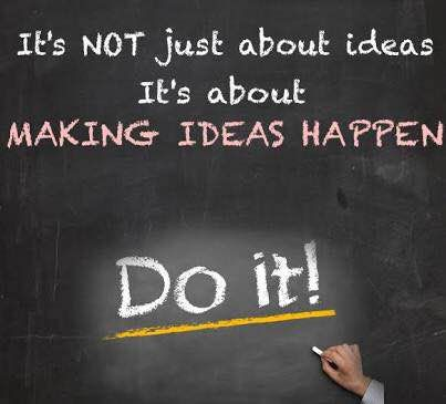 Time to make those ideas happen? Lets chat. www.financial-planning-sa.net