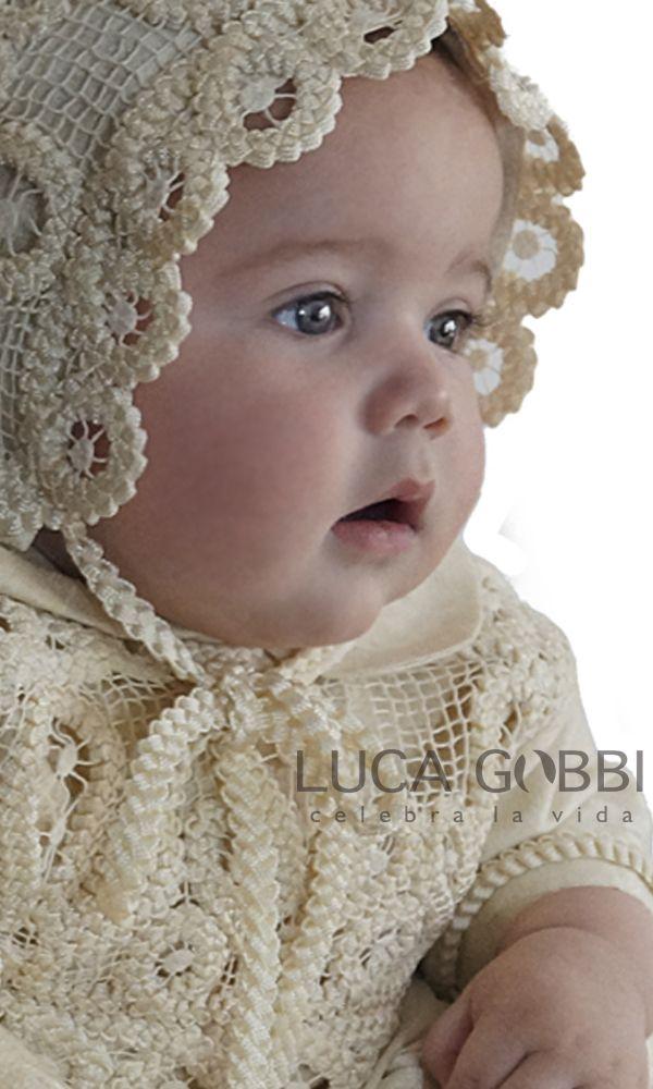 Ropones de Bautizo para niño Luca Gobbi. www.LucaGobbi.com