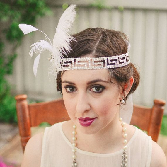 Glamorous Great Gatsby Inspired  by ChantillyLaceDesigns on Etsy, $152.00