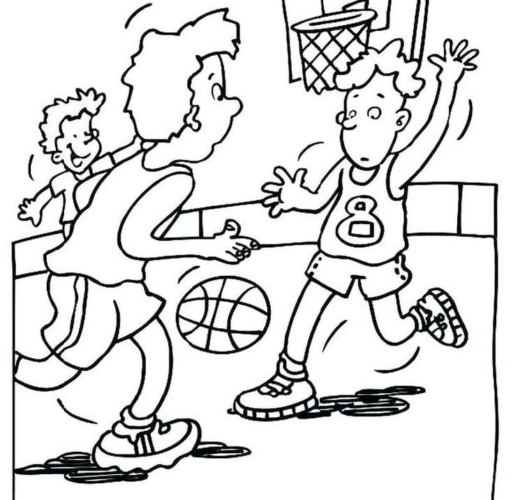 Basketball Teams Coloring Pages - GetColoringPages.com | 716x735