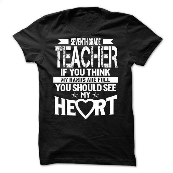 TEACHER - Seventh Grade Teacher - #cool shirts #funny hoodies. BUY NOW => https://www.sunfrog.com/LifeStyle/TEACHER--Seventh-Grade-Teacher.html?60505