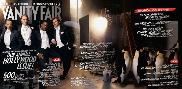 2007 From left: Ben Stiller, Owen Wilson, Chris Rock, and Jack Black