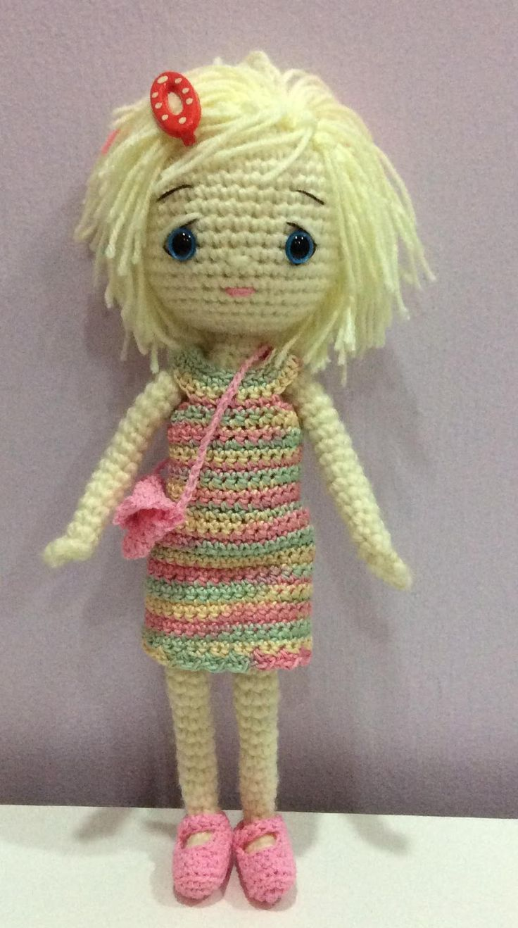 Amigurumi Crochet Dress : 17 Best images about Crochet Dolls on Pinterest ...